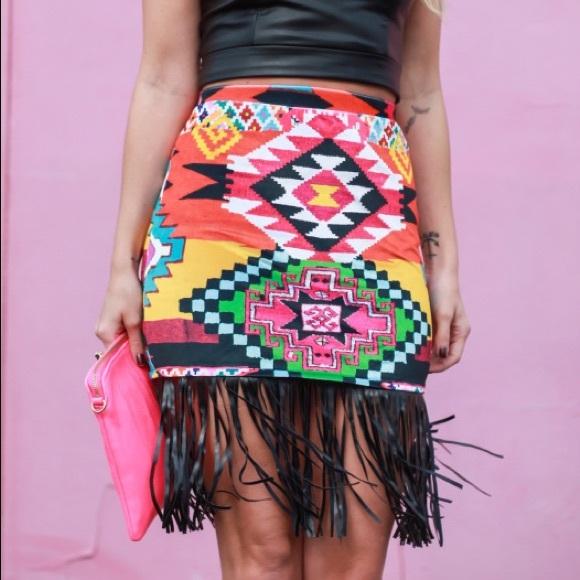 ASOS Dresses & Skirts - Tribal print skirt